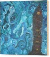 Vincents Castle  Wood Print