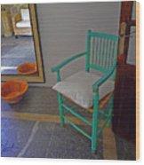 Vincent's Chair Wood Print