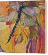 Vineyard Fantasy Wood Print