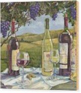 Vineyard Wine Tasting Wood Print