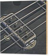 Vintage Bass Wood Print