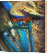 Vintage Bike Wood Print