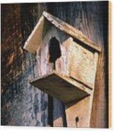 Vintage Birdhouse Wood Print