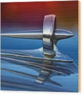 Vintage Buick Hood Ornament Wood Print