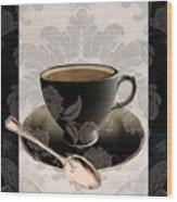 Vintage Cafe IIi Wood Print