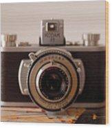Vintage Camera C10i Wood Print