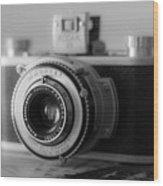 Vintage Camera C10p Wood Print