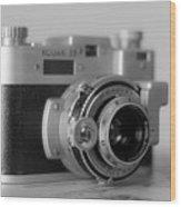 Vintage Camera C20f Wood Print