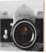 Vintage Camera C20m Wood Print