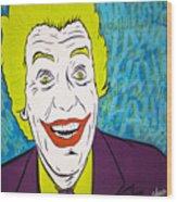 Vintage Cesar Romero's Joker Wood Print
