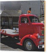 Vintage Chevrolet Truck Wood Print