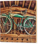 Vintage Cicycle Wood Print