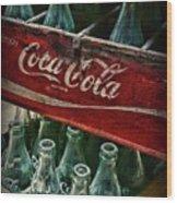 Vintage Coca Cola 1 Wood Print