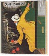 Vintage Coffee Advert - Circa 1920's Wood Print