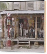 Vintage Country Store Usa - Circa 1939 Wood Print