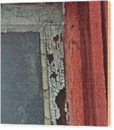 Vintage Crackle Wood Print