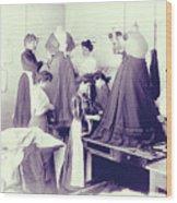 Vintage Dressmakers Wood Print
