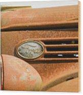 Vintage Ford Truck Wood Print