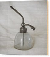 Vintage Fragrance Bottle Wood Print