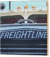 Vintage Freightliner  Wood Print