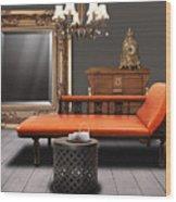 Vintage Furnitures Wood Print