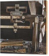 Vintage Grain Elevator Scale Wood Print