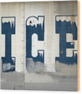 Vintage Ice Sign Photograph By Gregory Dyer