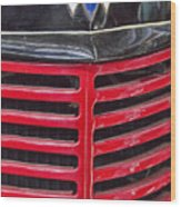 Vintage International Truck Wood Print