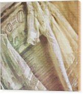 Vintage Laundry Washboard Wood Print