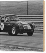 Vintage Mg On Track Wood Print
