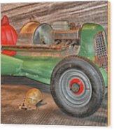 Vintage Midget Racer Wood Print