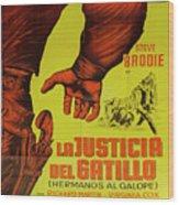 Vintage Movie Poster 1 Wood Print