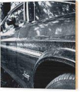 Vintage Mustang Wood Print
