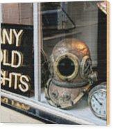 Vintage Nautical Items For Sale Wood Print