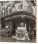 Vintage New York City Wood Print