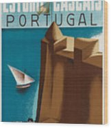 Vintage Portugal Travel Poster Wood Print