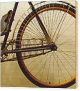 Vintage Remington Bike Wood Print