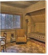 Vintage Room Wood Print by Jason Evans
