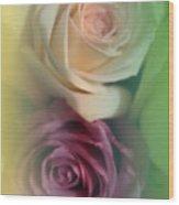 Vintage Roses 2 Wood Print