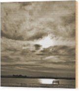 Vintage Sky. Wood Print