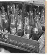 Vintage Soda Case  Wood Print