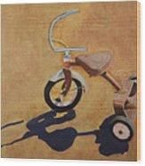 Vintage Tricycle Wood Print