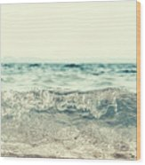 Vintage Waves Wood Print