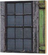 Vintage Windows Wood Print