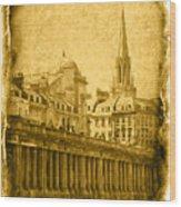 Vintage08 Wood Print