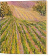 Vintners Delight Wood Print