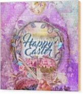 Violet Easter Wood Print