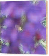 Violet Haze Wood Print