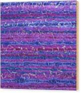 Violet Hours Wood Print