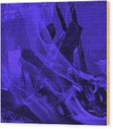 Violet Shine I I Wood Print